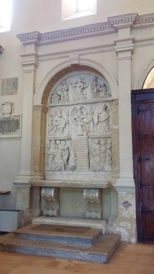 Altare della presentazione di Maria SS al Tempio di Salomone