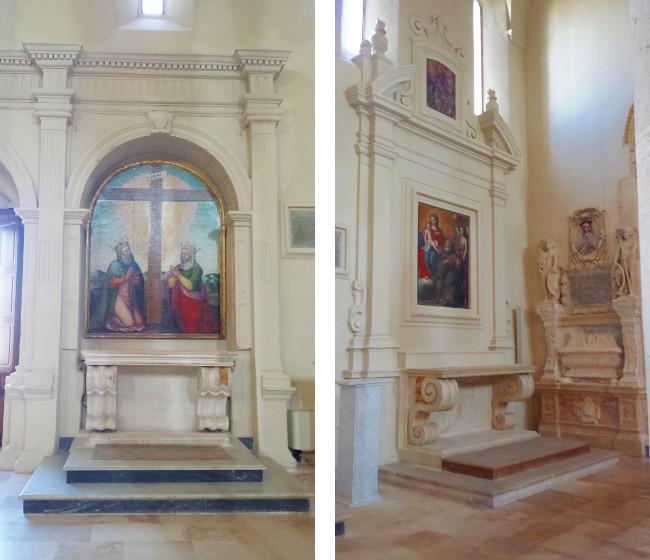 Altari della Croce e di San Francesco di Paola