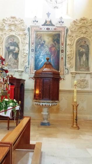 Battistero e dipinti del Battesimo di Gesù, di San Domenico e di San Vincenzo Ferreri