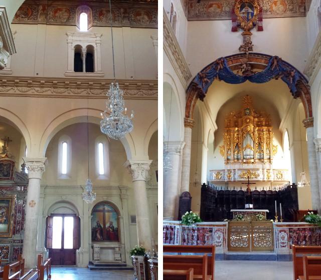 Finestre e Presbiterio della Cattedrale di Gravina in Puglia