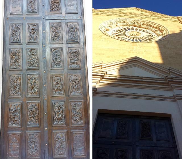Ingresso Ovest - Cattedrale di Gravina in Puglia