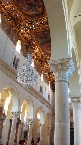 Interno della Cattedrale di Gravina in Puglia