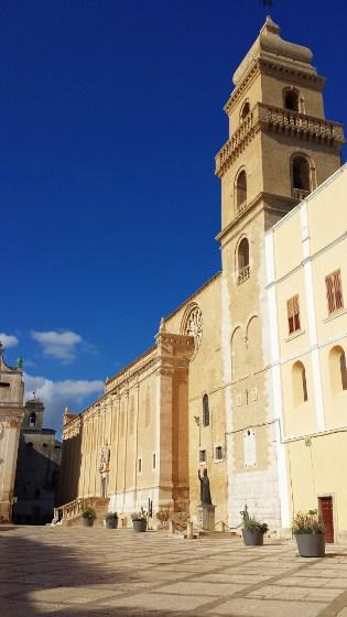 Prospetto Sud e Campanile della Cattedrale di Gravina in Puglia